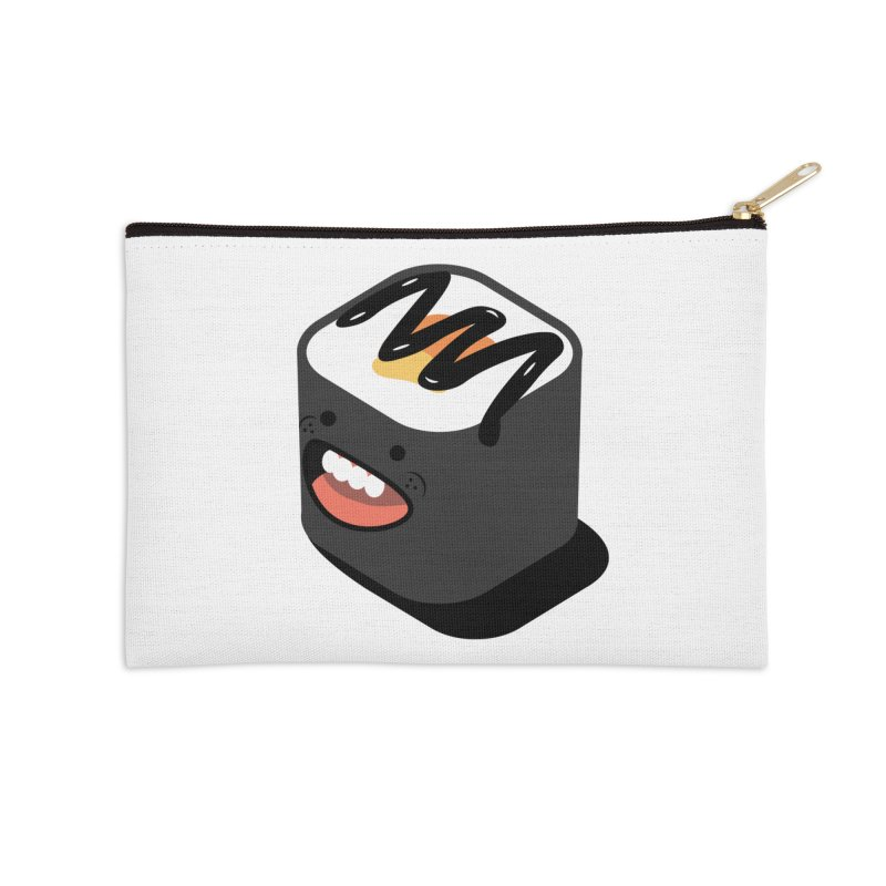 Sushi  Accessories Zip Pouch by MDM