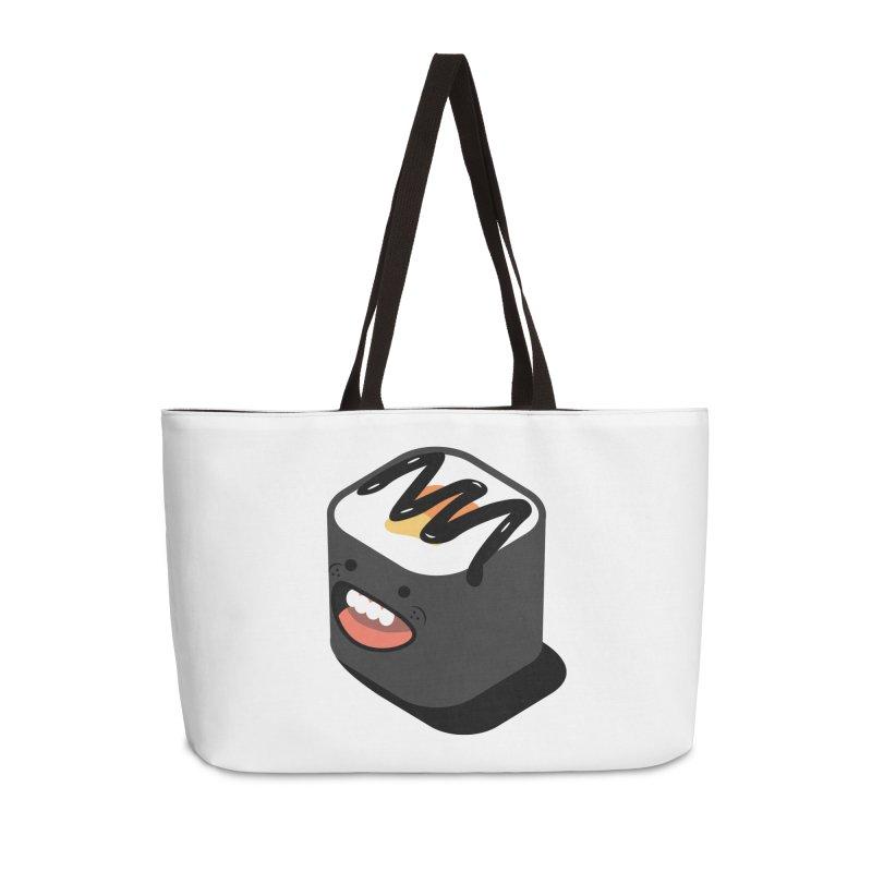 Sushi  Accessories Weekender Bag Bag by MDM