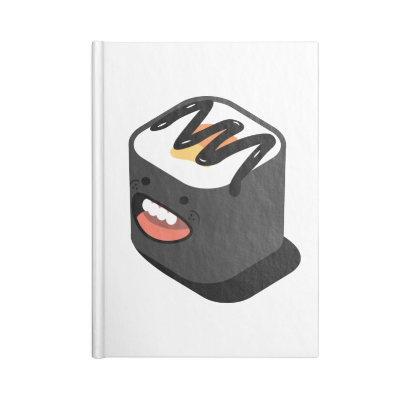 Sushi  Accessories Blank Journal Notebook by MDM