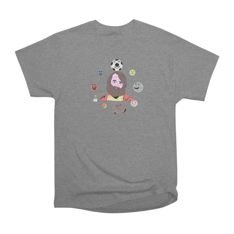 Phil and His Balls Women's Heavyweight Unisex T-Shirt by MDM