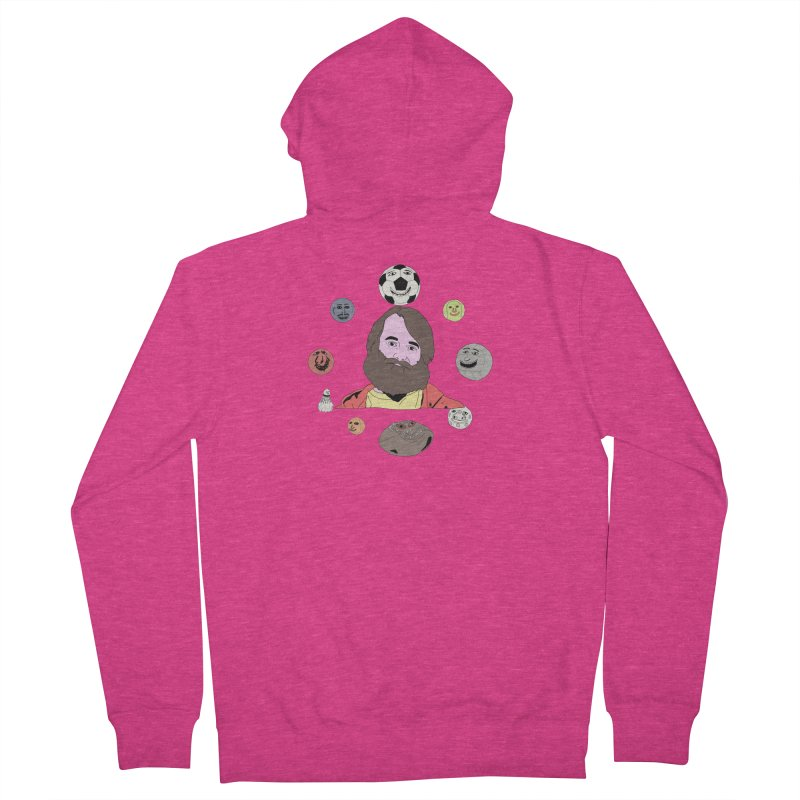 Phil and His Balls Women's Zip-Up Hoody by MDM