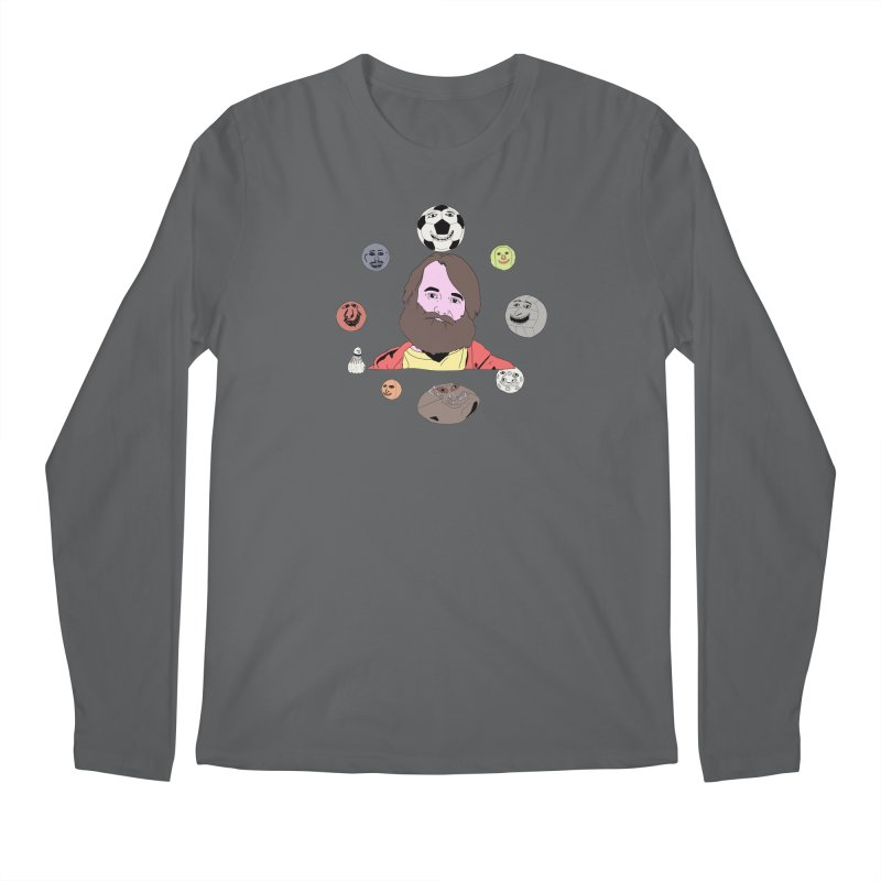 Phil and His Balls Men's Longsleeve T-Shirt by MDM