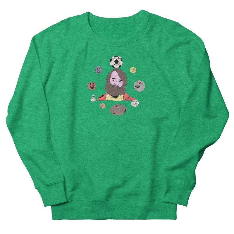 Phil and His Balls Men's French Terry Sweatshirt by MDM
