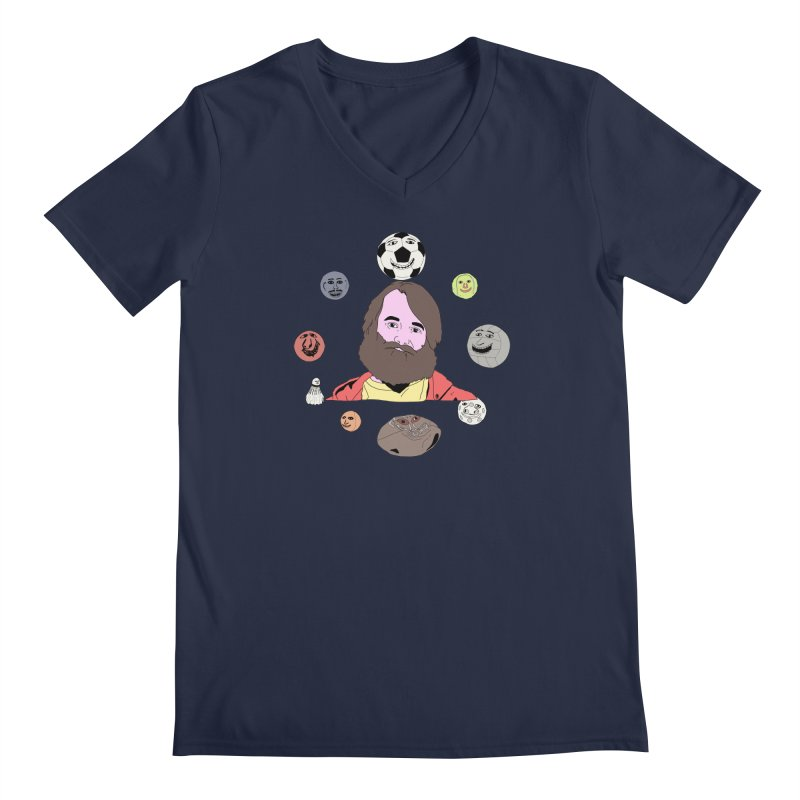 Phil and His Balls Men's V-Neck by MDM