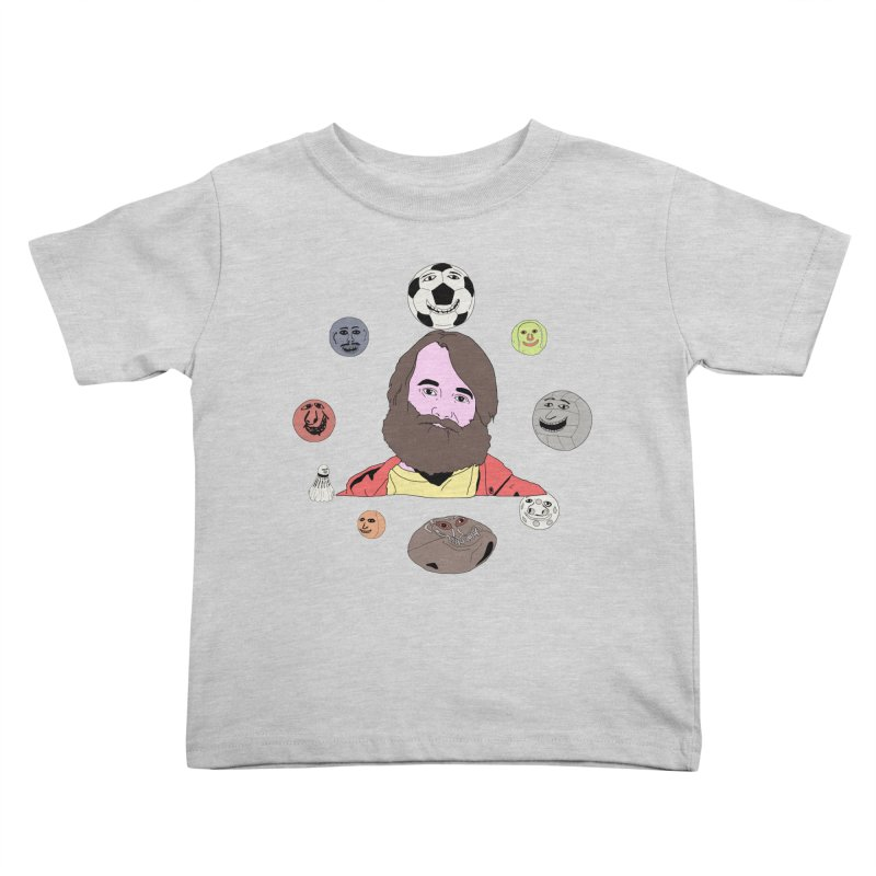 Phil and His Balls Kids Toddler T-Shirt by MDM