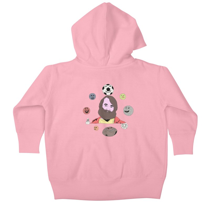 Phil and His Balls Kids Baby Zip-Up Hoody by MDM