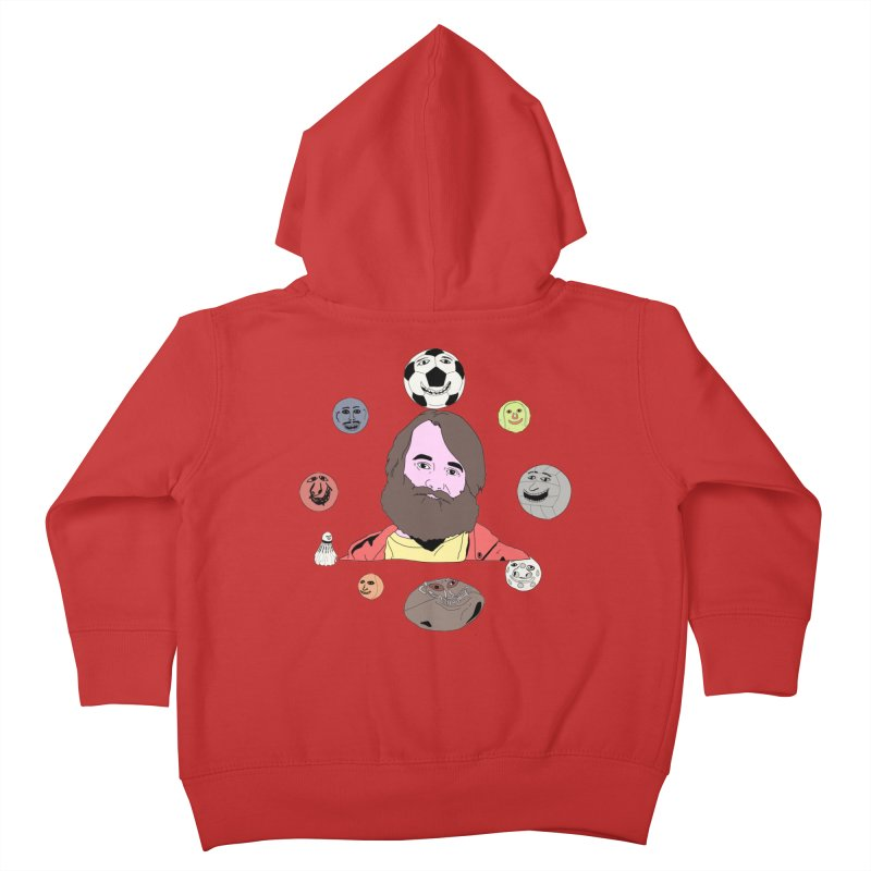 Phil and His Balls Kids Toddler Zip-Up Hoody by MDM