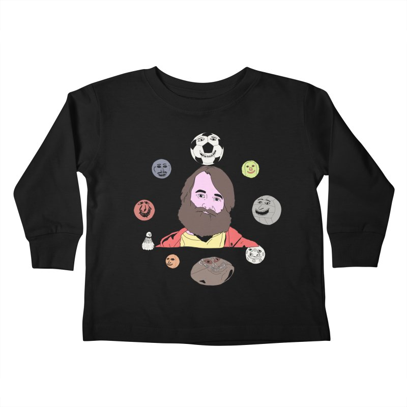 Phil and His Balls Kids Toddler Longsleeve T-Shirt by MDM