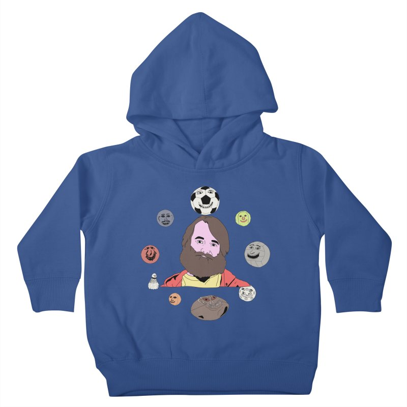 Phil and His Balls Kids Toddler Pullover Hoody by MDM