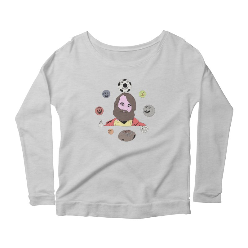 Phil and His Balls Women's Scoop Neck Longsleeve T-Shirt by MDM