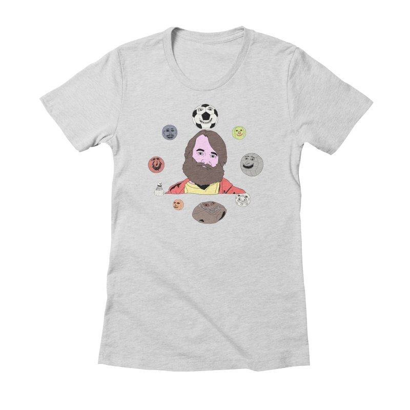 Phil and His Balls Women's Fitted T-Shirt by MDM