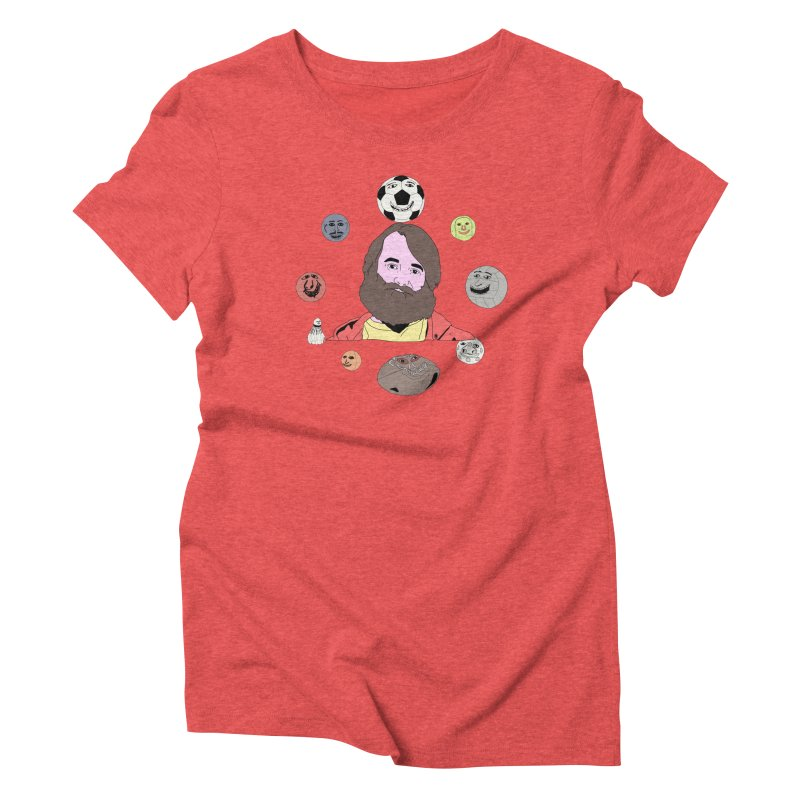 Phil and His Balls Women's Triblend T-Shirt by MDM