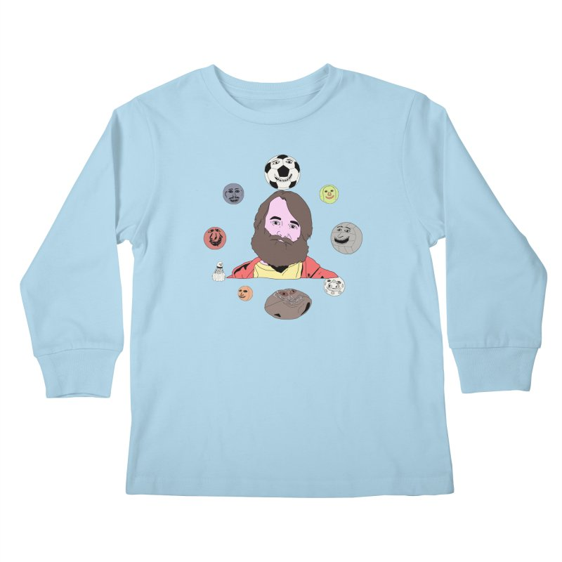 Phil and His Balls Kids Longsleeve T-Shirt by MDM
