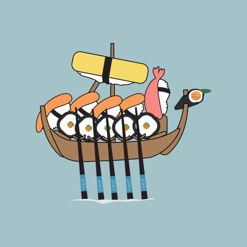 Sushi Vikings Accessories Phone Case by MDM
