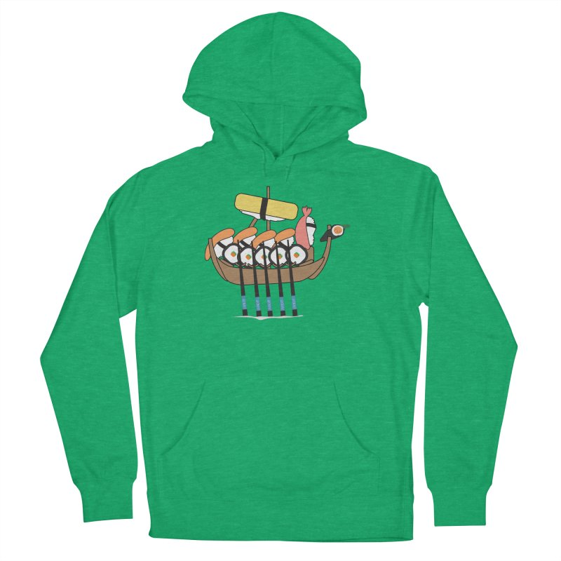 Sushi Vikings Women's French Terry Pullover Hoody by MDM