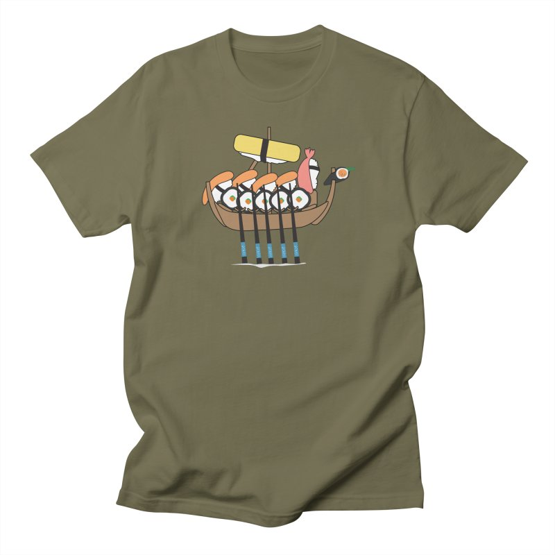 Sushi Vikings Men's Regular T-Shirt by MDM