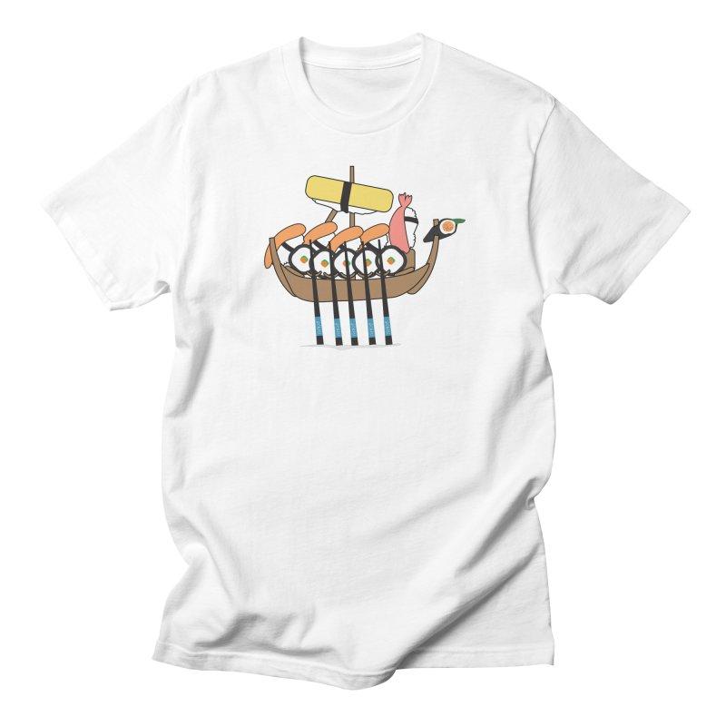 Sushi Vikings Men's T-Shirt by MDM