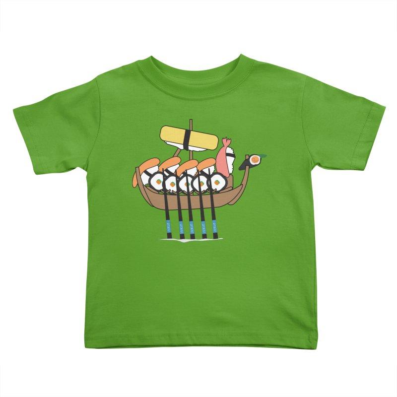 Sushi Vikings Kids Toddler T-Shirt by MDM