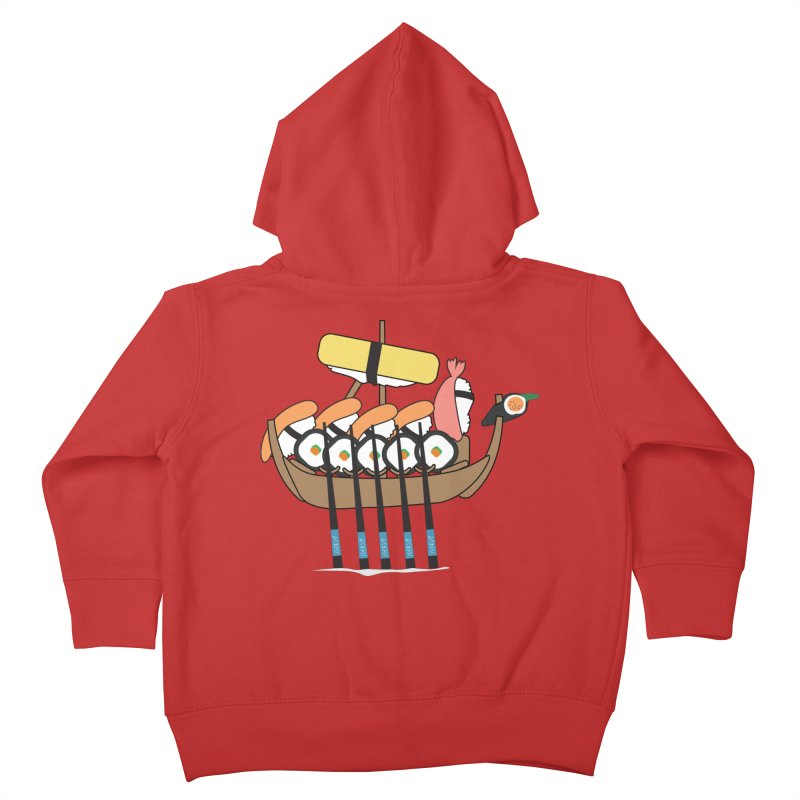 Sushi Vikings Kids Toddler Zip-Up Hoody by MDM