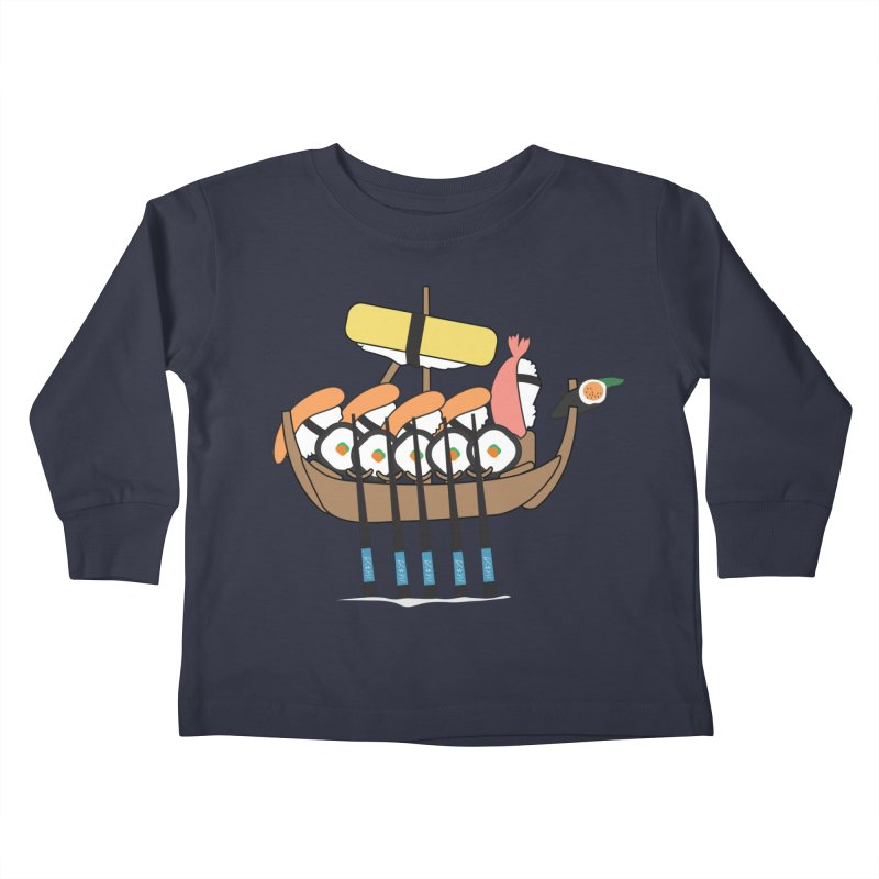 Sushi Vikings Kids Toddler Longsleeve T-Shirt by MDM