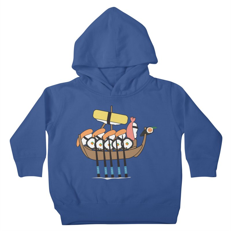 Sushi Vikings Kids Toddler Pullover Hoody by MDM
