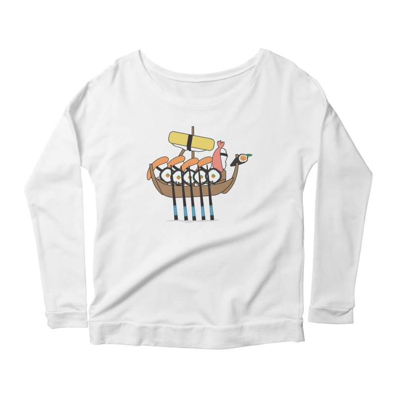 Sushi Vikings Women's Scoop Neck Longsleeve T-Shirt by MDM
