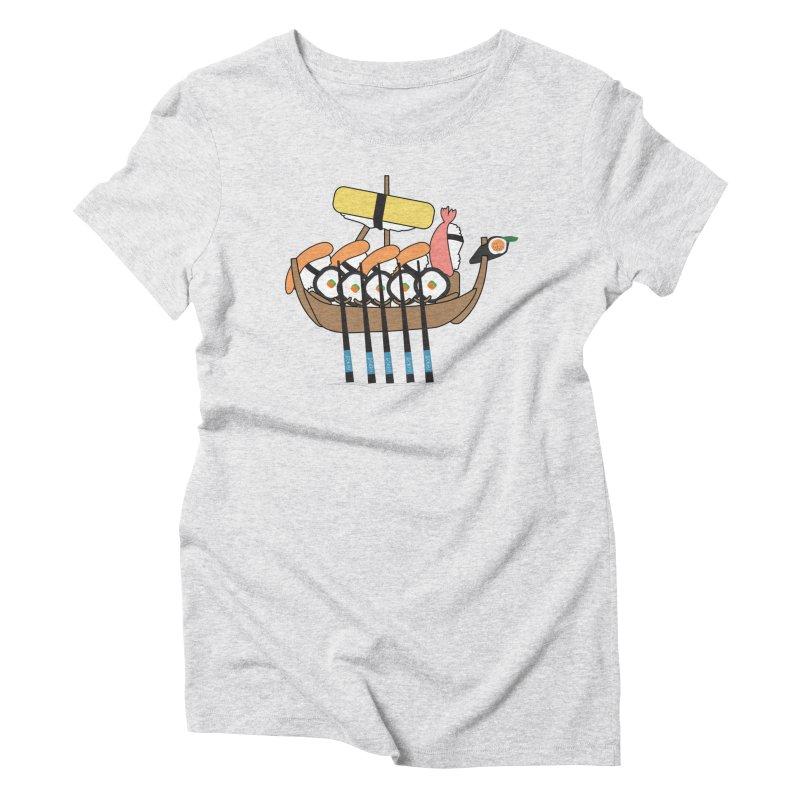 Sushi Vikings Women's T-Shirt by MDM