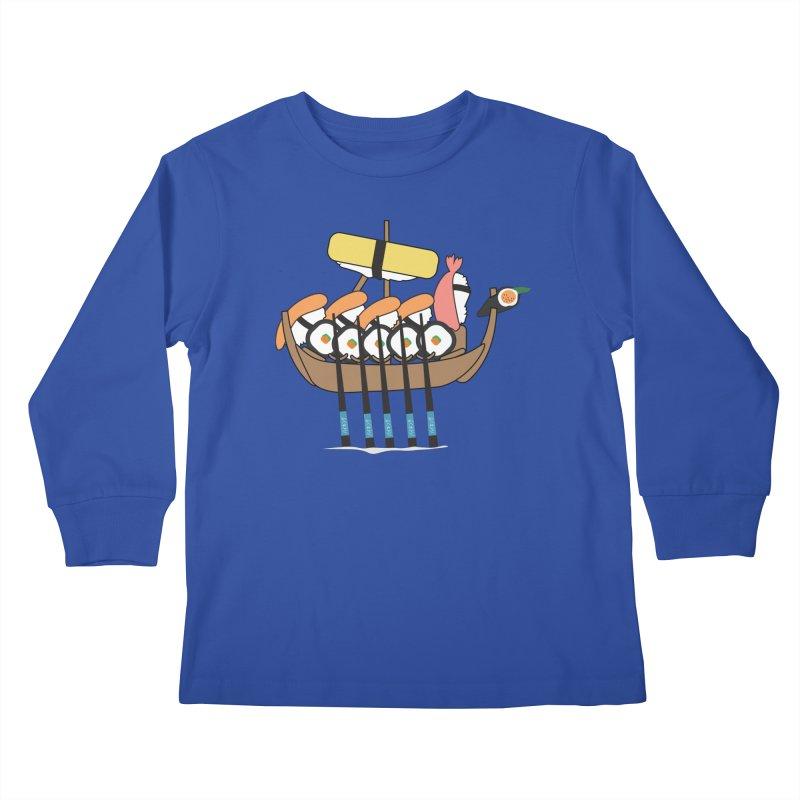 Sushi Vikings Kids Longsleeve T-Shirt by MDM