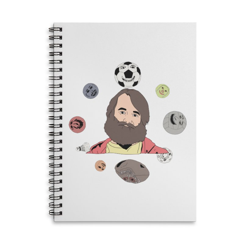 The Last Man on Earth Accessories Lined Spiral Notebook by MDM