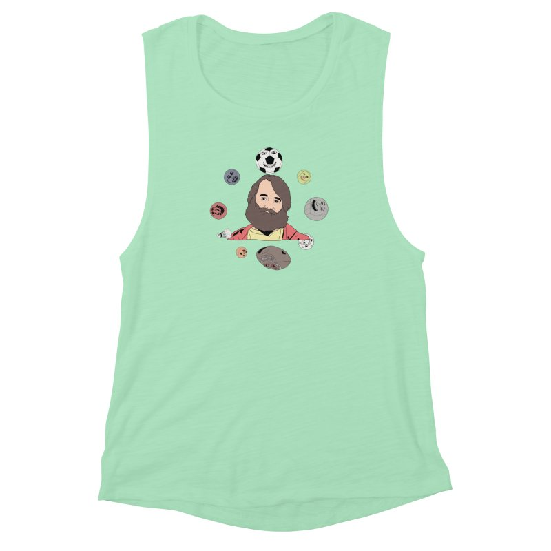 The Last Man on Earth Women's Muscle Tank by MDM