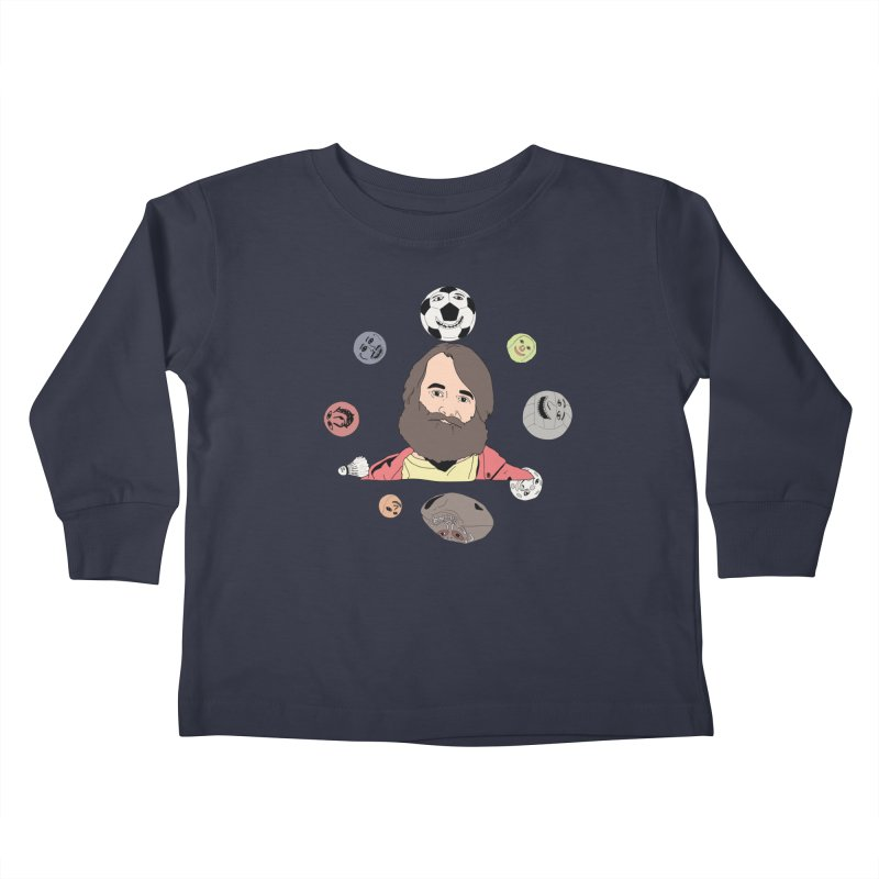 The Last Man on Earth Kids Toddler Longsleeve T-Shirt by MDM
