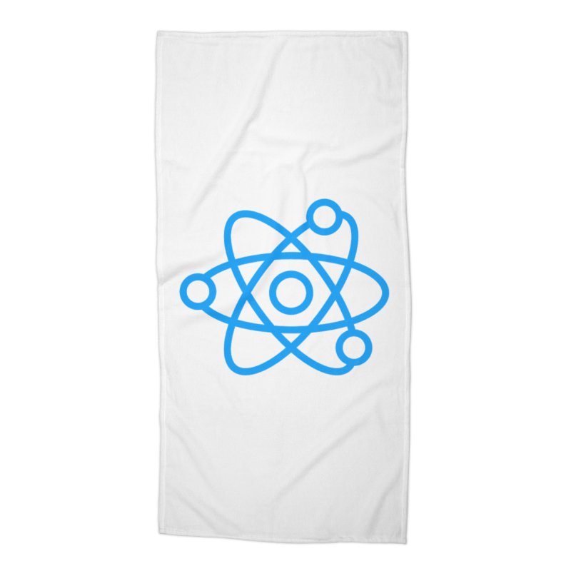 Icon Blue Accessories Beach Towel by Matter of Beer Shop