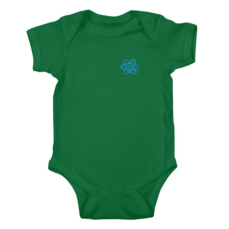 Icon Blue Kids Baby Bodysuit by Matter of Beer Shop