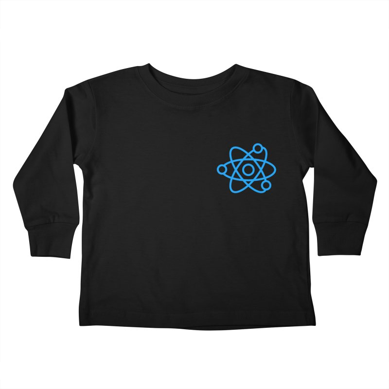 Icon Blue Kids Toddler Longsleeve T-Shirt by Matter of Beer Shop