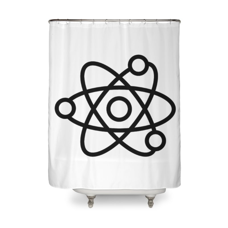 Icon Black Home Shower Curtain by Matter of Beer Shop
