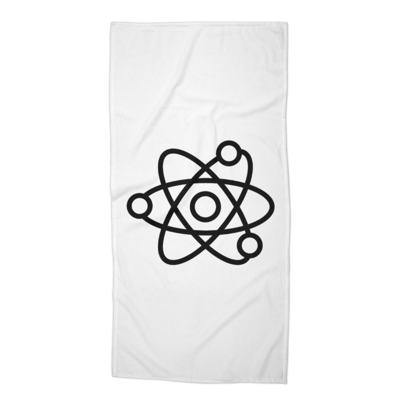 Icon Black Accessories Beach Towel by Matter of Beer Shop