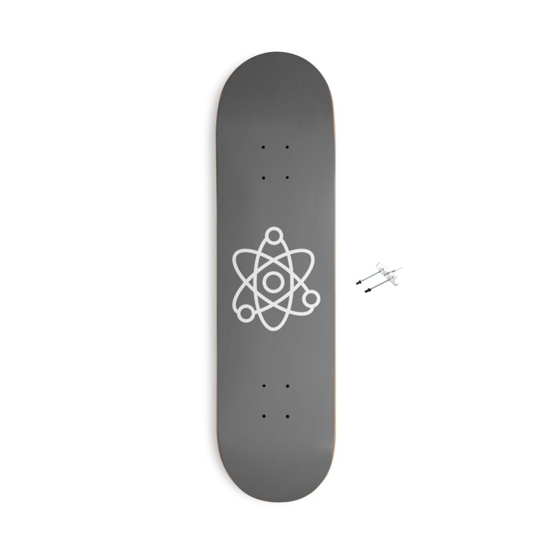 Icon White Accessories Skateboard by Matter of Beer Shop