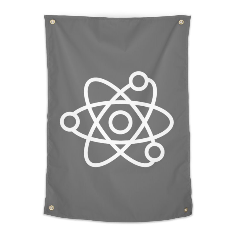Icon White Home Tapestry by Matter of Beer Shop