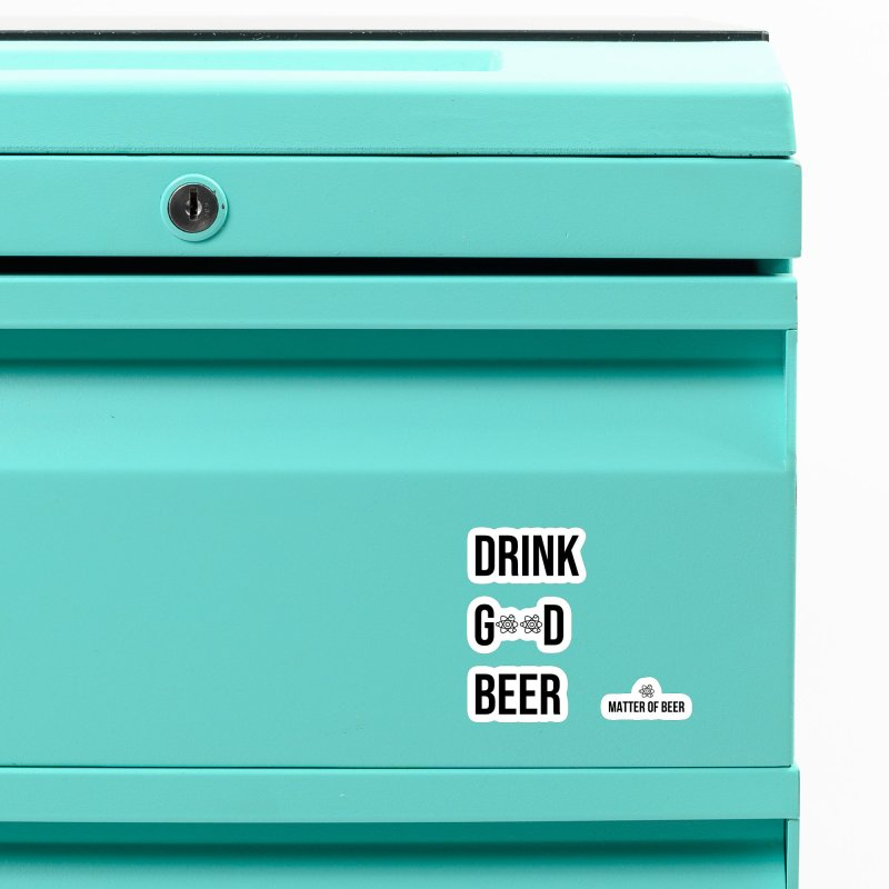 Drink Good Beer Black Accessories Magnet by Matter of Beer Shop