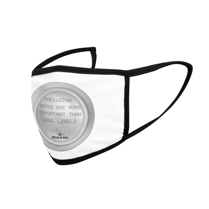 Packaging Dates Accessories Face Mask by Matter of Beer Shop