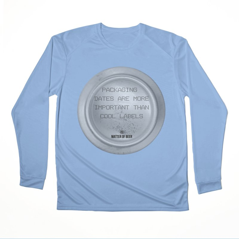 Packaging Dates Women's Longsleeve T-Shirt by Matter of Beer Shop