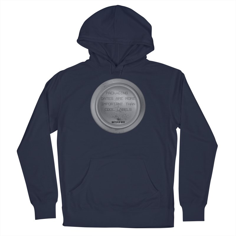 Packaging Dates Men's Pullover Hoody by Matter of Beer Shop