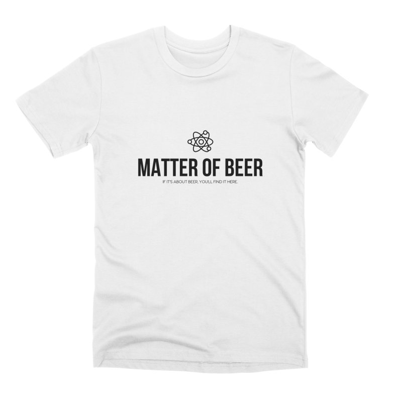Black Full Logo Men's T-Shirt by Matter of Beer Shop