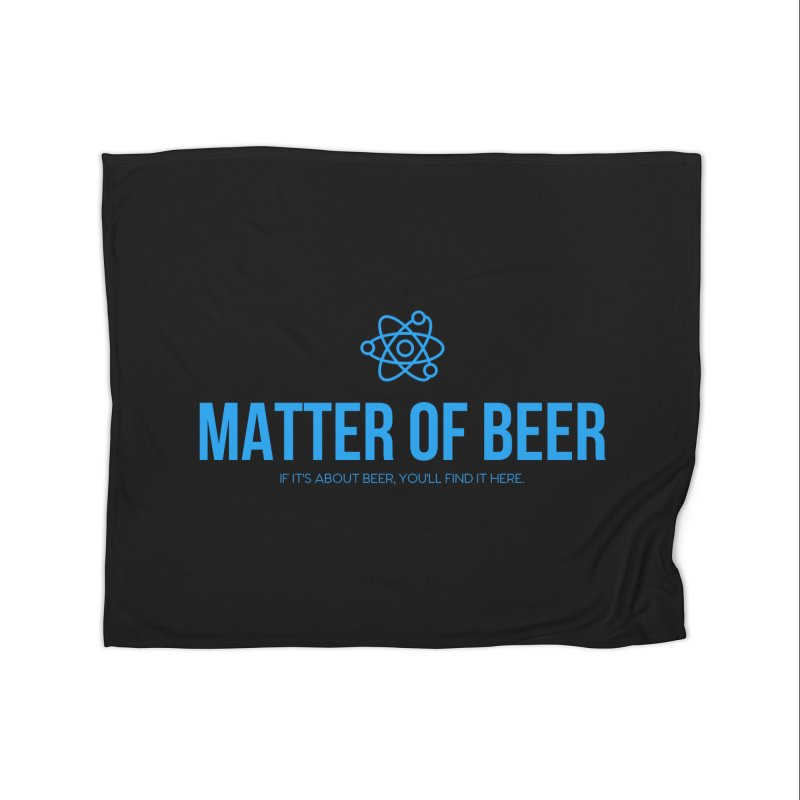 Blue Full Logo Home Blanket by Matter of Beer Shop