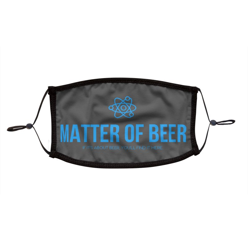 Blue Full Logo Accessories Face Mask by Matter of Beer Shop