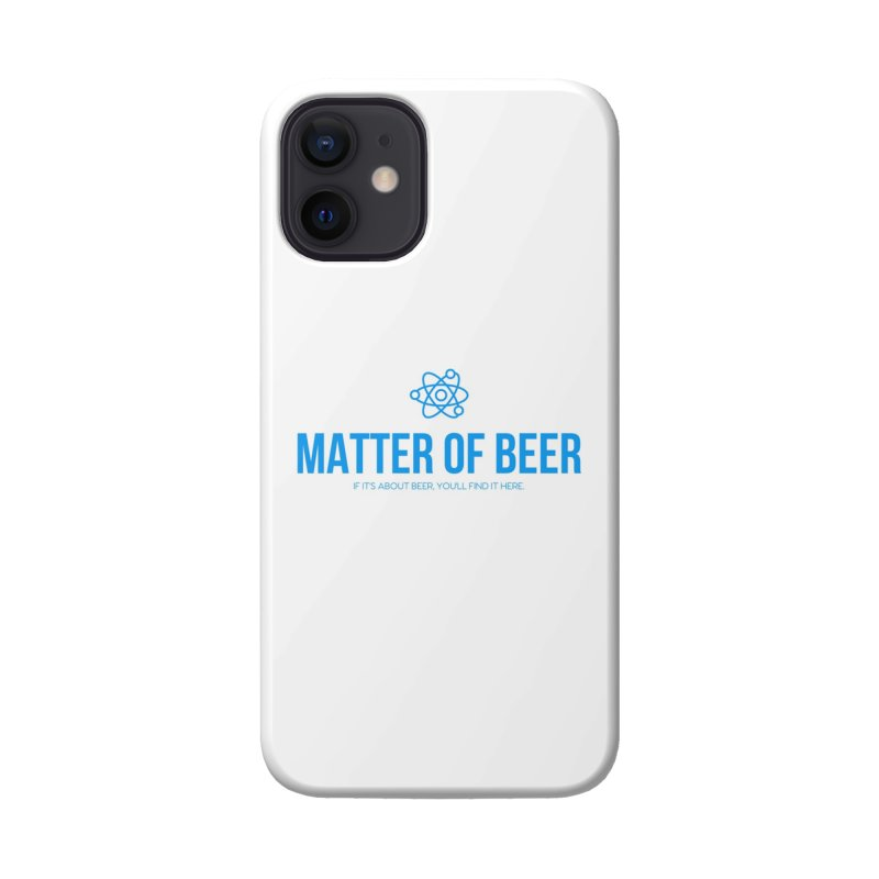 Blue Full Logo Accessories Phone Case by Matter of Beer Shop