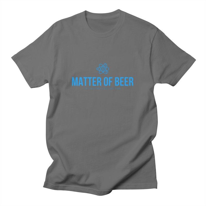 Blue Full Logo Men's T-Shirt by Matter of Beer Shop