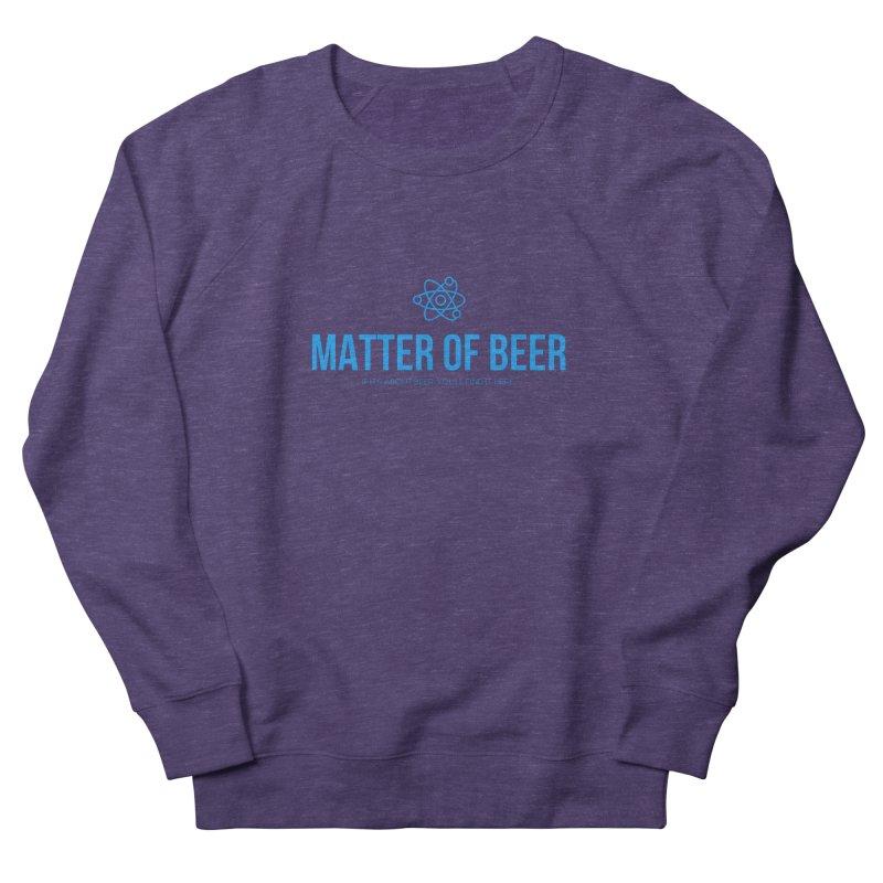 Blue Full Logo Women's Sweatshirt by Matter of Beer Shop