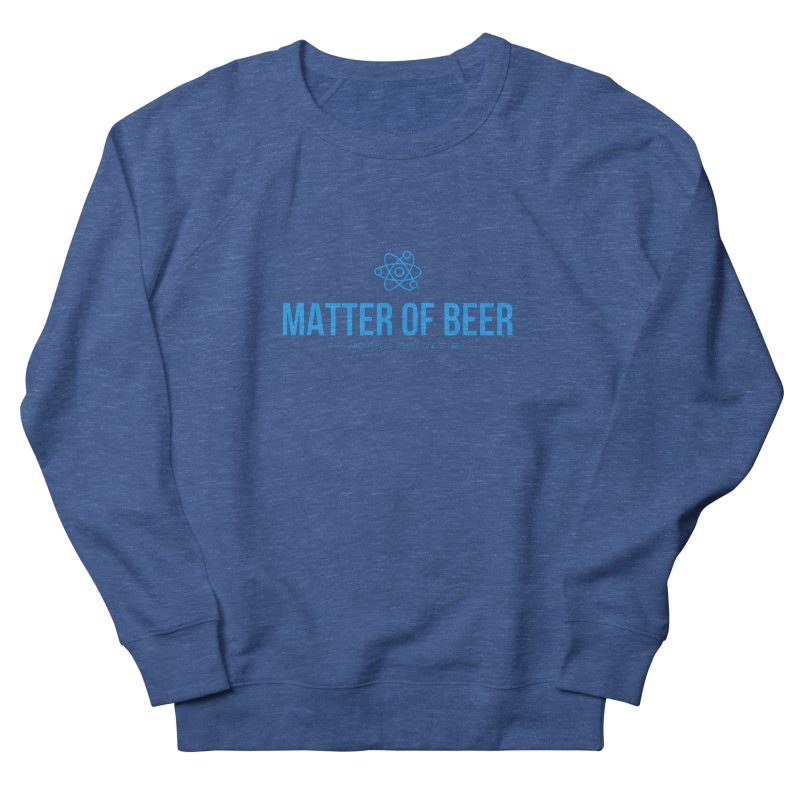 Blue Full Logo Men's Sweatshirt by Matter of Beer Shop