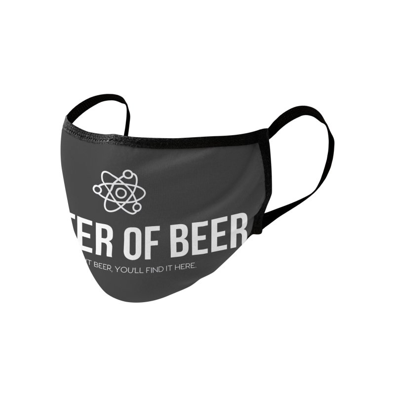 White Full Logo Accessories Face Mask by Matter of Beer Shop